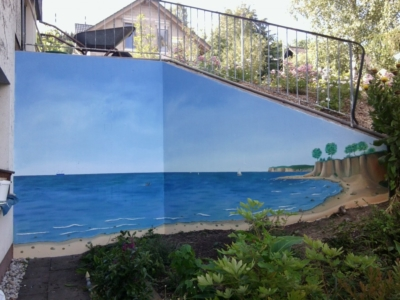 Wandbild, Wandmalerei, Illusionsmalerei