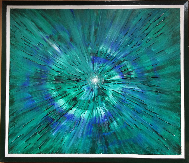 Ahnenkreis, Familienaufstellung, Zeitreise, painting, Spirit, kosmisch