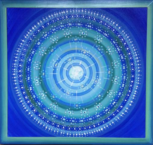 Aborigines, Ahnenkreis, Familienaufstellung, Zeitreise, painting, Spirit, kosmisch